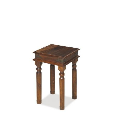 Jali Sheesham Wood Thacket Lamp Table